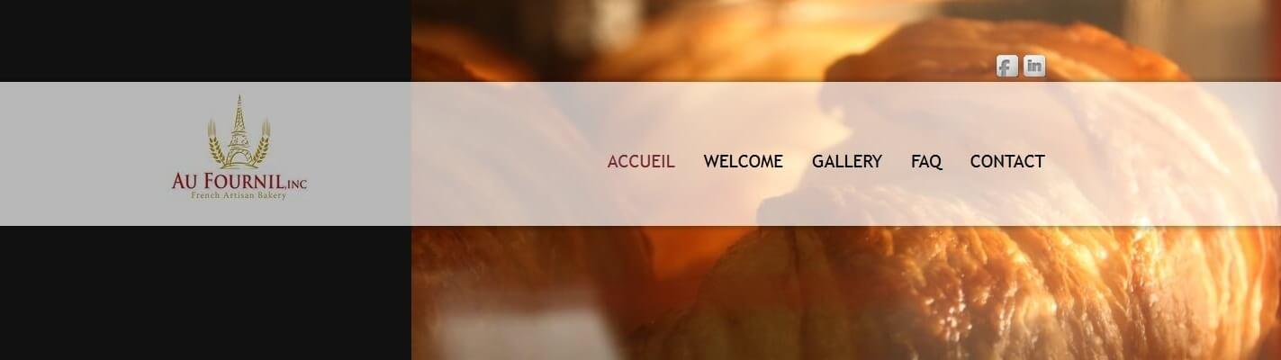 Création site internet www.aufournil.com
